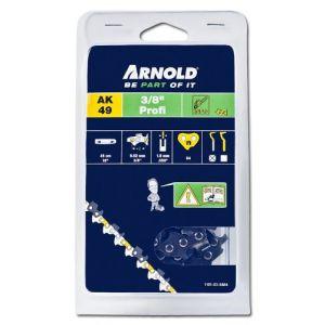 """Arnold Chaîne 3/8"""", 1,5mm, 64 Entr., avec element de securité, demi rond - 1191-X3-5864"""