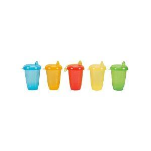 Babies R Us Lot de 5 gobelets à bec semi-rigides