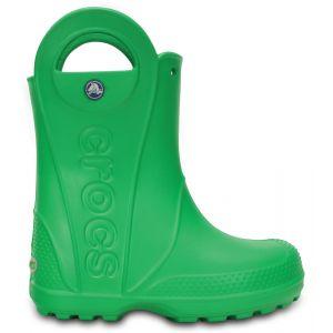 Crocs Handle It,Bottes de Pluie,Mixte Enfant,Vert (Grass Green), 33/34 EU