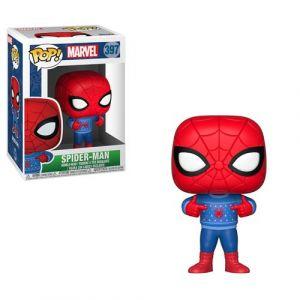Funko Figurine POP! #397 - Marvel - Spider-Man Noël