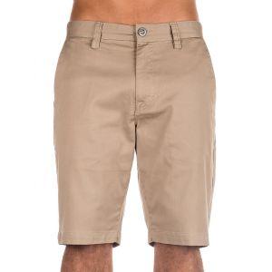 Volcom Short Short Frickin Modern Stretch Khaki Beige - Taille FR 34,FR 36,FR 32,30,28