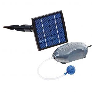 Heissner Ensemble de pompe à air et panneau solaire 120 L/h