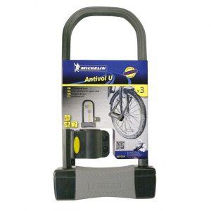 Michelin Antivol U 16,5 x 32 cm pour vélo