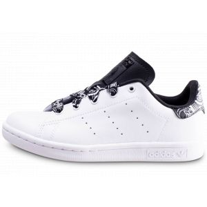 Adidas Stan Smith Bandana Noir Et Blanc Enfant 30 Baskets