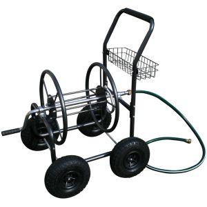 Varan Motors TC-471 - Dévidoir chariot enrouleur de tuyau d'arrosage