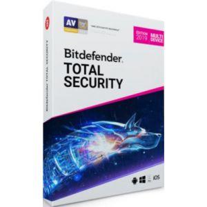 Logiciel sécurité Bitdefender Total Security Multi-Device 2019 - 2 Ans / 10 App. [Windows]