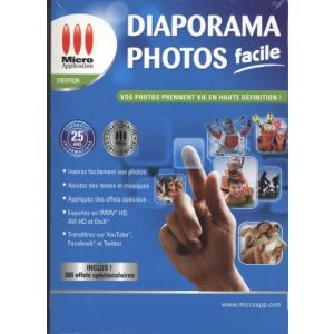 Diaporama Photo Facile 2012 pour Windows