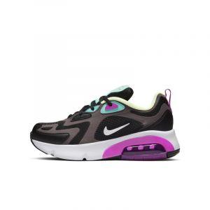 Nike Chaussure Air Max 200 pour Enfant - Noir - Taille 35.5