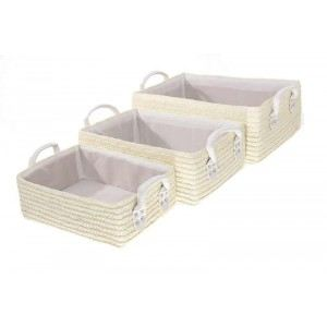 panier rangement blanc osier comparer 101 offres. Black Bedroom Furniture Sets. Home Design Ideas