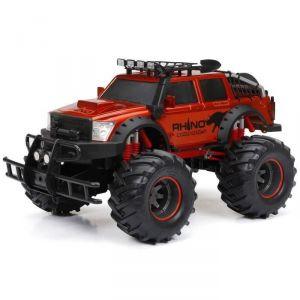 New Bright Voiture 4X4 Radiocommandée Rhino Expedition 1/12eme (41 cm)
