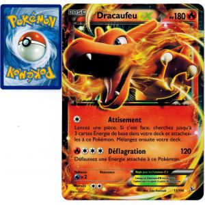 Asmodée Dracaufeu Ex - Carte Pokémon 11/106 Jumbo Promo