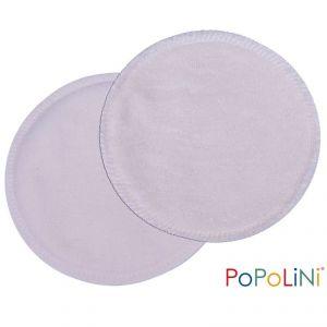 Popolini 3 paires de coussinets d'allaitement Gots en coton bio