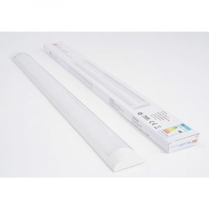Silamp Réglette Lumineuse LED 90cm 24W - couleur eclairage : Blanc Froid 6000K - 8000K