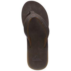 Quiksilver Carver Nubuck, Chaussures de Plage et Piscine Homme, Marron (Demitasse-Solid Ctk0), 42 EU
