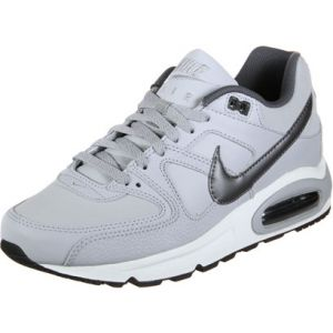 Nike Air Max Command Leather, Baskets Homme, Gris (Wolf Grey/Metallic Dark Grey-Black-White 012), 42.5 EU