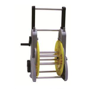Sigmund s.d.g. Dévidoir sur roues manivelle débray+démult tuyau Ø15 (50m)-Ø19 (35m)