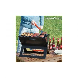 Innova Goods Barbecue au Charbon Portable et Pliable