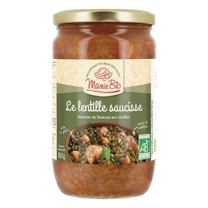 Mamie bio Le lentille saucisse bio - 800 g