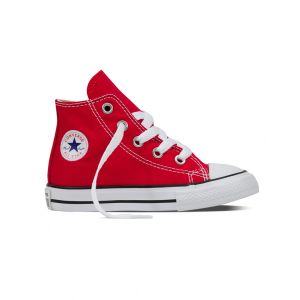 Converse Baskets hautes Chuck Taylor All Star Hi Canvas Rouge - Taille 18;19;20;22;23;24;25;26;21