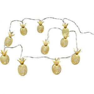 Declikdeco Guirlande lumineuse ananas 10 leds