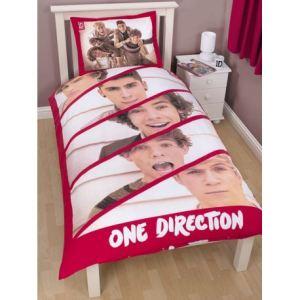 One Direction Boyfriend - Housse de couette et taie en polycoton (135 x 200 cm)