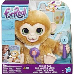Hasbro FurReal Friends Zandi le bébé singe va chez le médecin