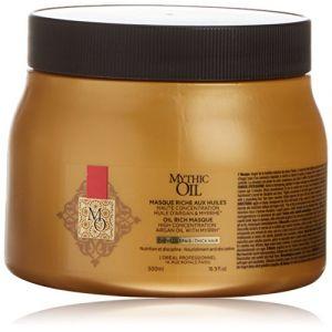 L'Oréal MYTHIC OIL masque riche aux huiles #cheveux épais 500 ml