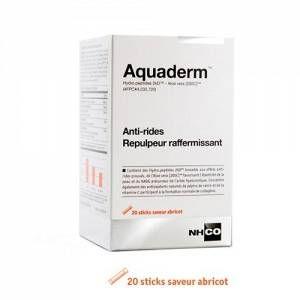 Nhco nutrition Nutrition Aquaderm - Anti-rides et repulpeur raffermissant 20 sticks saveur abricot