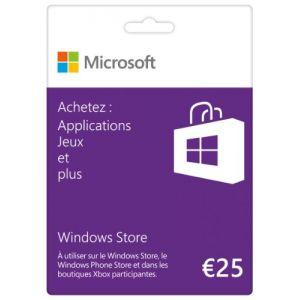 Carte Cadeau Microsoft 25 euros [Windows]