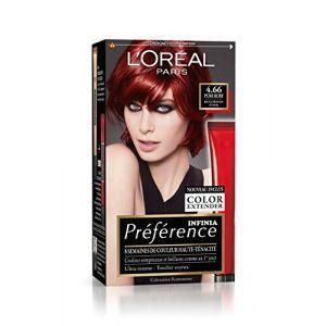 L'Oréal Préférence P46 Pure Ruby - Rouge Profond Intense
