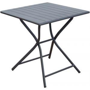 Table de jardin Max carrée 70x70 cm