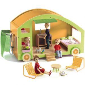 Djeco Caravane house - Maison de poupées