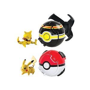 Tomy Pokémon - Coffret Throw 'n' Pop Poké Ball Ultime Combat