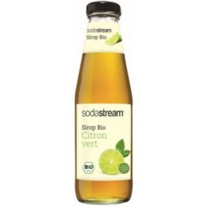 Sodastream Arômes Sirop Bio CITRON VERT 500 ml