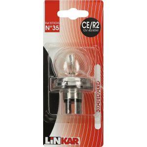 bendix Ampoule automobile pour feux de croisement Linkar - C2/R2 - 12 V - 45/40 W