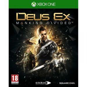 Deus Ex : Mankind Divided sur XBOX One