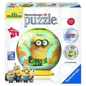 Ravensburger Puzzle Ball 3D Les Minions 72 pièces