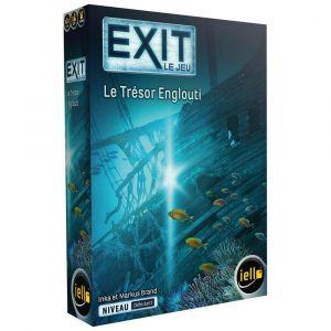 Iello Jeu d'escape game Exit Le trésor englouti Niveau Débutant