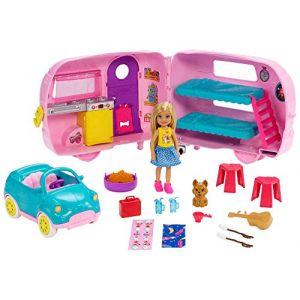 Mattel Chelsea et sa caravane