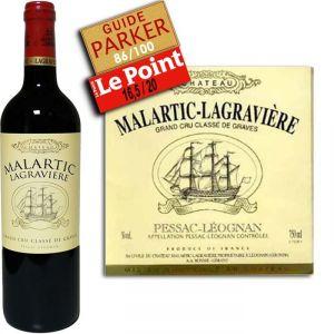 Château Malartic Lagraviere 2007 - 1 x Vin rouge, Bordeaux (Pessac-Leognan)