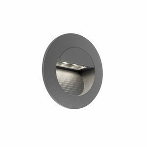 Faro Encastrable de Mur Gris Fonce Led 1,2W-Mini Racing