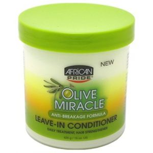 African Pride Olive Miracle leave-in conditioner