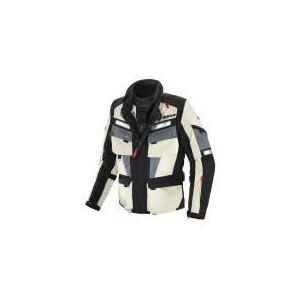 Spidi Marathon (noir et blanc) - Blouson de moto textile waterproof pour homme