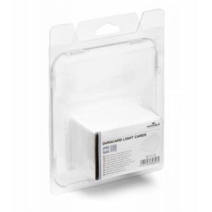 Durable 8914-02 - Lot de 100 cartes PVC fines, format 85,60 x 53,98 mm, pour DuraCard ID300