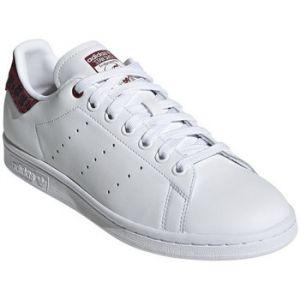 Adidas Stan Smith chaussures Femmes blanc bordeaux T. 39 1/3