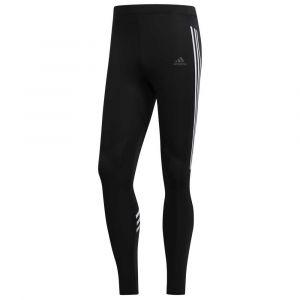 Adidas Run It Tight 3 Stripe - Collant de running taille XL, noir