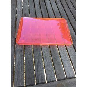 The digic Coque Plastique Rigide Brillant Translucide Pour Macbook Pro 13 avec Touch Bar A1706 / A1708 - Rose