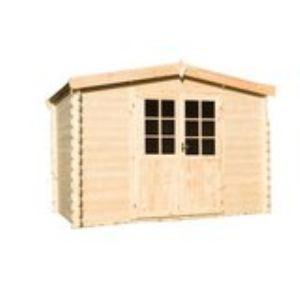 Image de Abri de jardin en bois 3 x 2,20 m - 6,60 m2