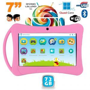 "Yonis Tablette tactile enfant 7"" 72 Go sous Android 5.1"