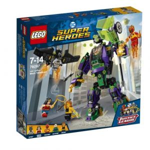 Lego 76097 - DC Comics Super Heroes : l'Attaque en Armure de Lex Luthor